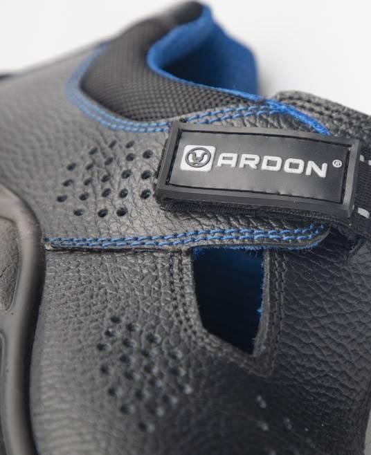 Sandale de protectie Ardon KING S1, cu bombeu metalic 4
