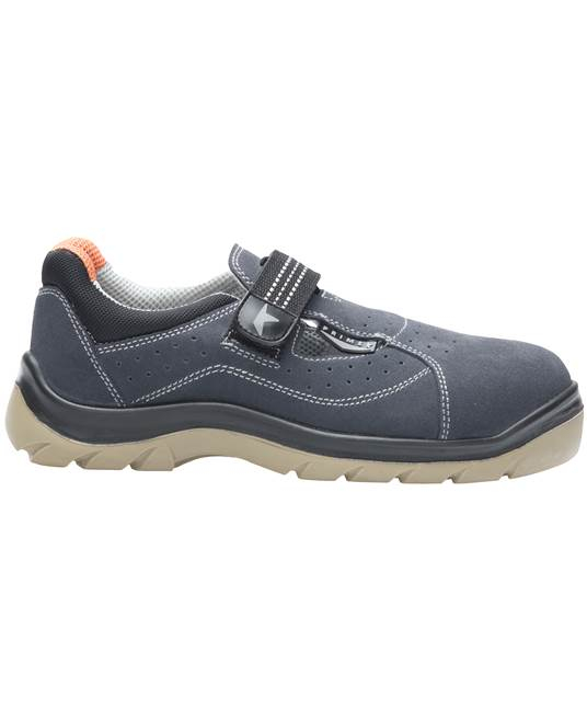 Sandale de protectie Ardon PRIME SANTREK S1, cu bombeu metalic 0