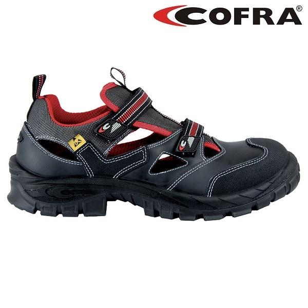 Sandale de protectie COFRA GUTTORM S1P ESD, cu bombeu din compozit si lamela 0