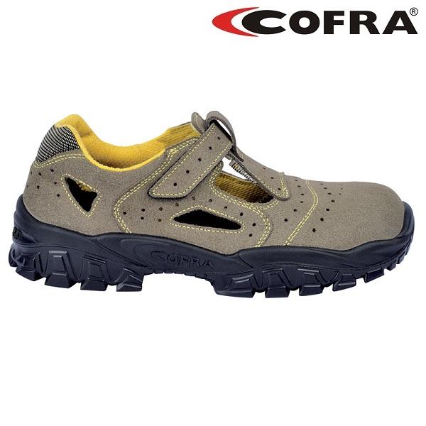 Sandale de protectie COFRA NEW BRENTA S1P, cu bombeu metalic si lamela [0]
