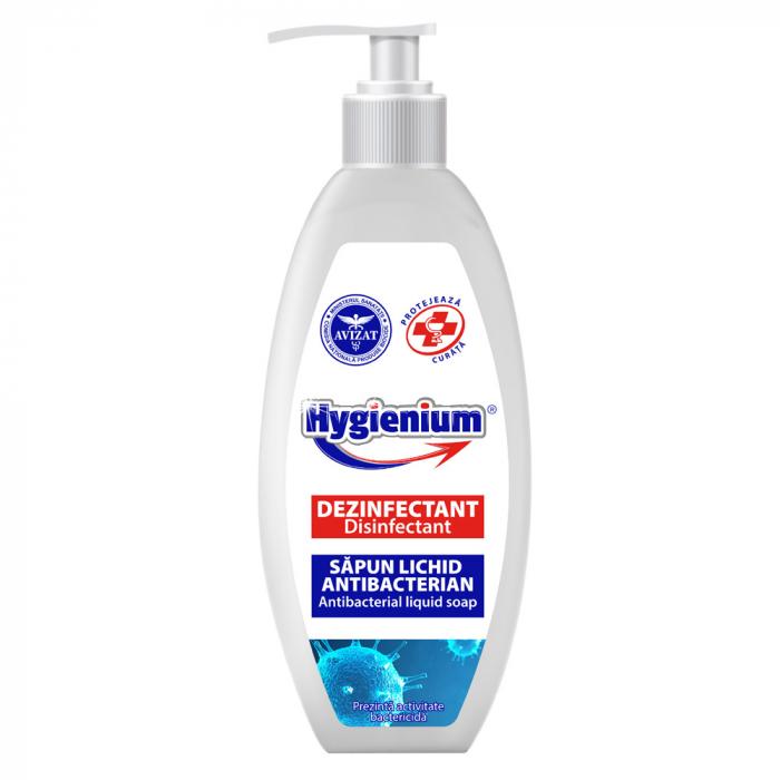 Sapun lichid dezinfectant si antibacterian HYGIENIUM, 300 ml [0]