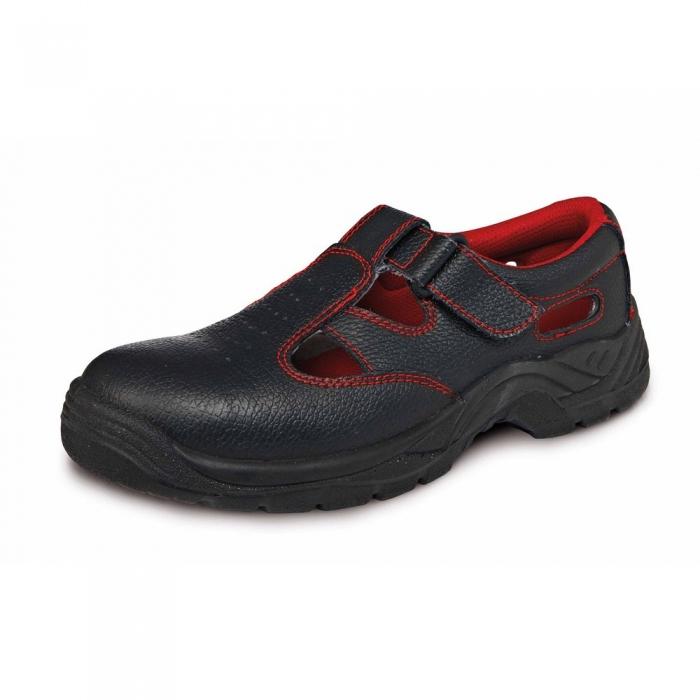 Sandale de protectie Fridrich SC-01-001 BONN S1, cu bombeu metalic [0]