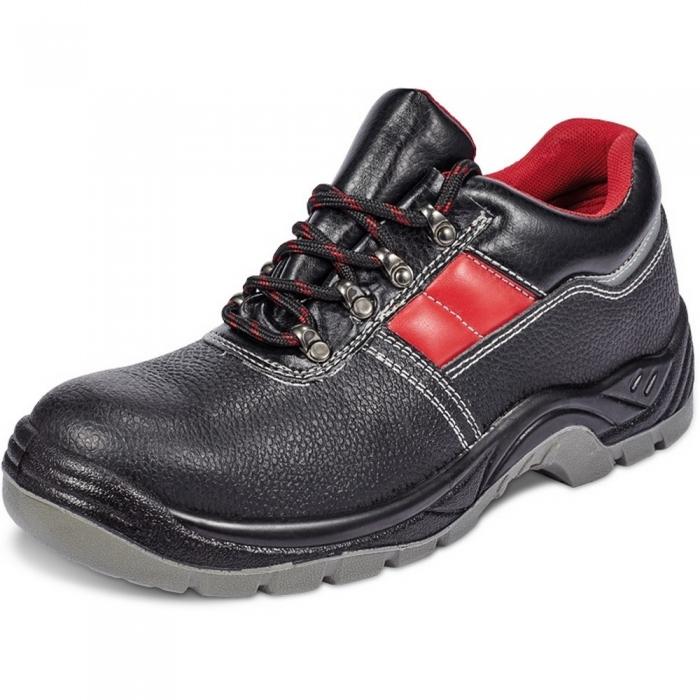 Pantofi de protectie Fridrich SC-02-002 KIEL S3, cu bombeu metalic si lamela 0