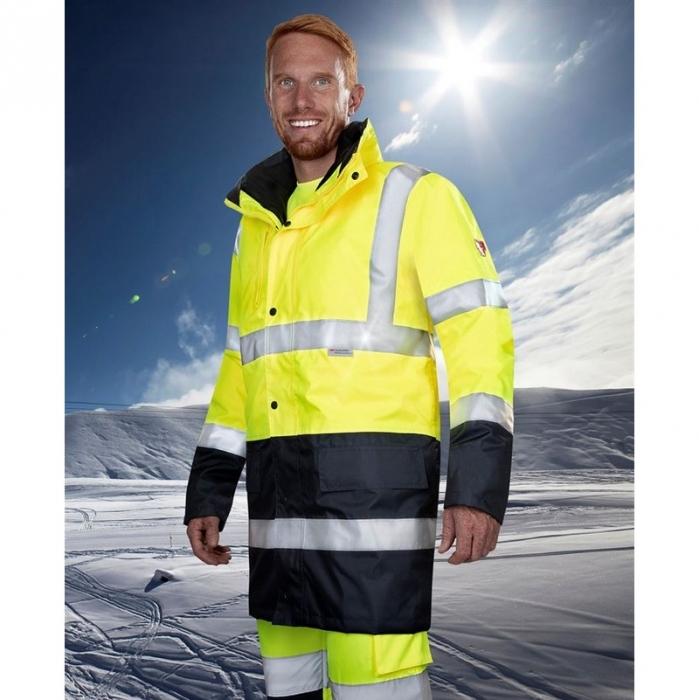 Scurta reflectorizanta, impermeabila de iarna Ardon HI WAY 4IN1, 100% poliester Oxford 300D, cu maneci detasabile [2]