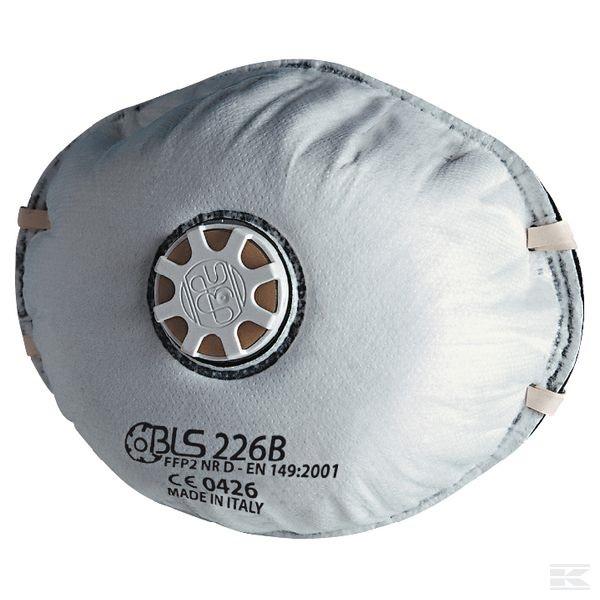 Semimasca de protectie cu supapa FFP2 BLS 226B, tip cupa 0