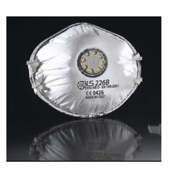 Semimasca de protectie cu supapa FFP2 BLS 226B, tip cupa 5