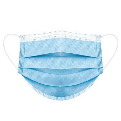 Set 50 bucati - semi masca medicala Portwest TIP IIR, ambalata individual, EN 14683 1