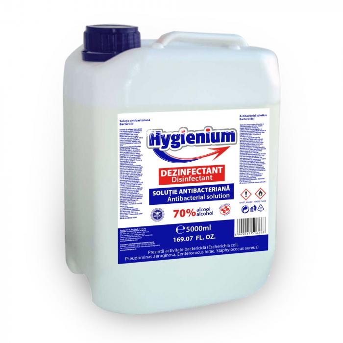 Solutie antibacteriana si dezinfectanta HYGIENIUM, 5 litri 0