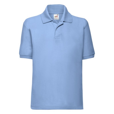 Tricou polo copii Fruit of the Loom FOL CLASSIC, 65/35 bumbac, 180 gr/mp 0