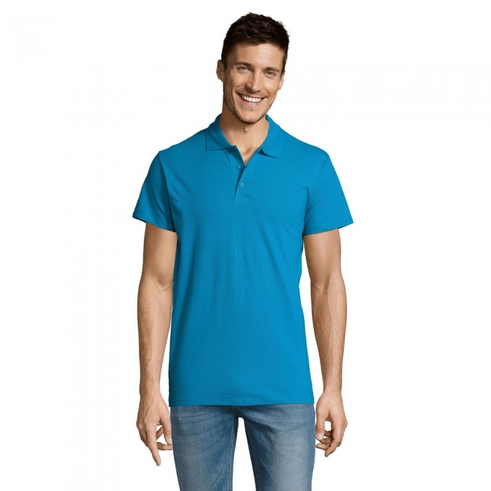Tricou polo Sols SUMMER II, 100% bumbac, 170gr/mp 1