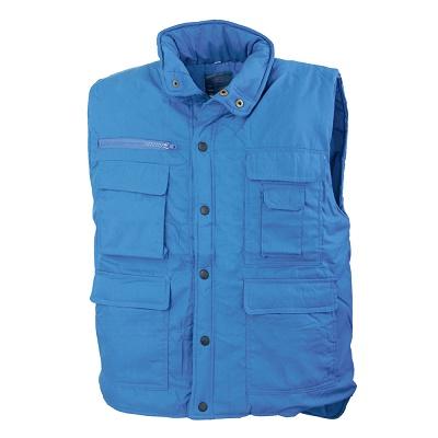 Vesta vatuita de iarna Renania TRITON BLUE, tercot 80/20 0