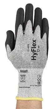 Manusi de protectie taiere Ansell HYFLEX 11-435, impregnata in poliuretan, fibre de sticla [0]