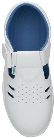 Sandale albe de protectie microfibra Ardon VOG S1, cu bombeu metalic2