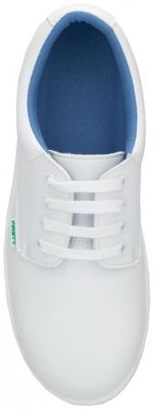 Pantofi albi de protectie microfibra Ardon FINN S2, cu bombeu metalic2