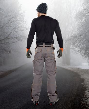 Pantaloni vatuiti de iarna Ardon VISION, tercot 60/40, 260gr/mp2