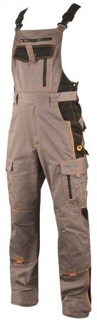 Pantaloni cu pieptar vatuiti de iarna Ardon VISION, tercot 60/40, 260 gr/mp0