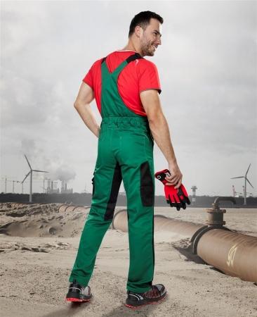 Pantaloni salopeta cu pieptar Ardon PRE100, tercot 65/35, 270gr/mp2