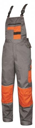 Pantaloni salopeta cu pieptar Ardon 2STRONG, tercot 80/20, 235gr/mp0