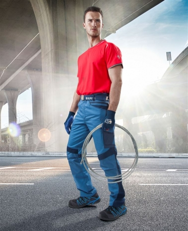 Pantaloni de lucru Ardon R8ED, tercot 65/35, 245gr/mp1