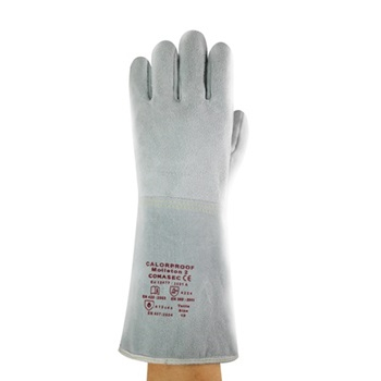 Manusi de protectie sudura Ansell MOLTON CALORPROOF 2, piele [0]