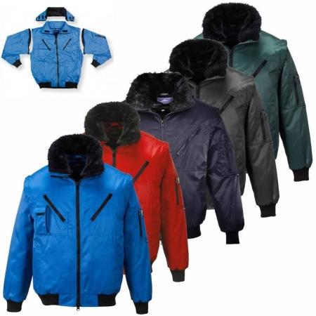 EXFORD | Jacheta de iarna cu maneci, guler si interior detasabil2