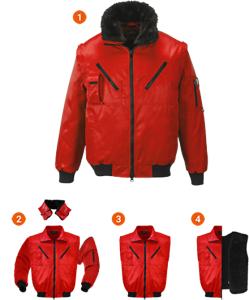 EXFORD | Jacheta de iarna cu maneci, guler si interior detasabil1