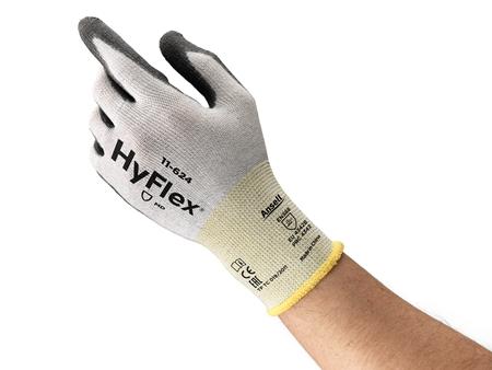 Manusi de protectie taiere Ansell HYFLEX 11-624, impregnate in poliuretan [3]