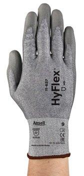 Manusi de protectie taiere Ansell HYFLEX 11-627, impregnate in poliuretan0