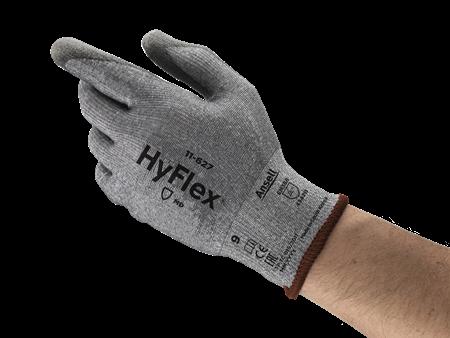 Manusi de protectie taiere Ansell HYFLEX 11-627, impregnate in poliuretan2