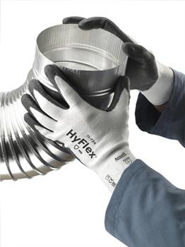 Manusi de protectie taiere Ansell HYFLEX 11-724, impregnate in poliuretan3