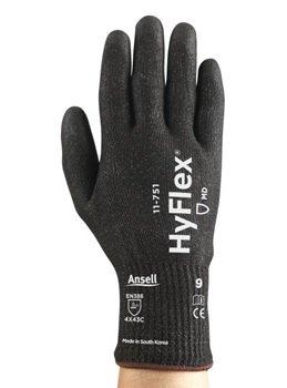 Manusi de protectie taiere Ansell HYFLEX 11-751,poliuretean0