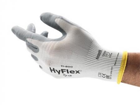 Manusi de protectie Ansell HYFLEX 11-800, impregnate in spuma de nitril2