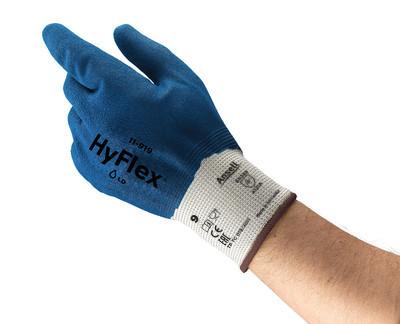 Manusi de protectie Ansell HYFLEX 11-919, impregnate in nitril [2]