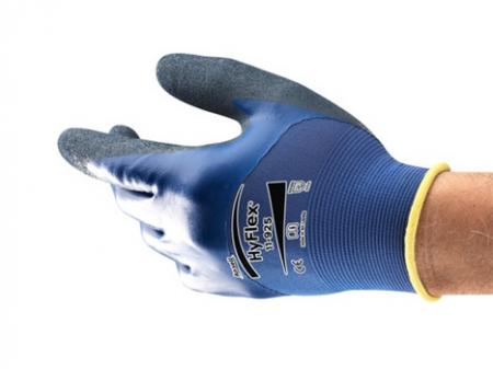 Manusi de protectie Ansell HYFLEX 11-925, impregnate in nitril [2]