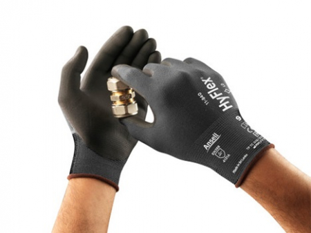 Manusi de protectie Ansell HYFLEX 11-840, impregnate in nitril3
