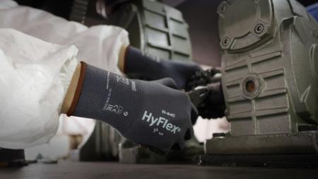 Manusi de protectie Ansell HYFLEX 11-840, impregnate in nitril4
