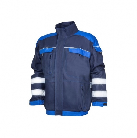 Jacheta de lucru cu benzi reflectorizante Ardon COOL TREND, 100% bumbac, 260 gr/mp0