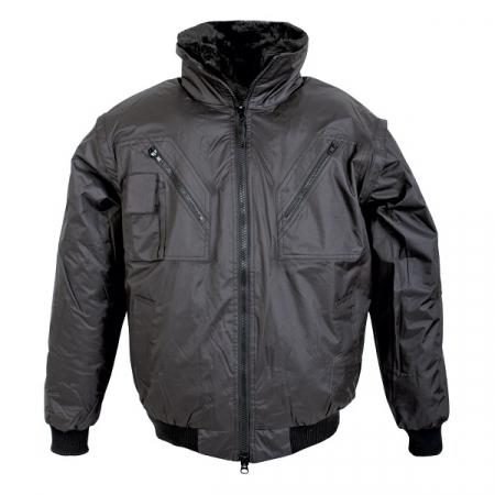 Jacheta de iarna cu maneci detasabile Renania EXFORD 2IN1, 100% poliester [0]