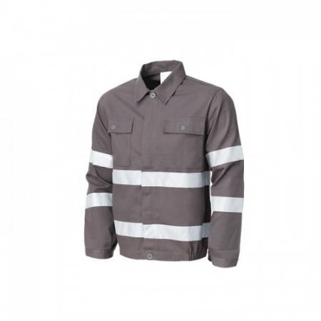 Jacheta de lucru cu benzi reflectorizante Renania WARNING, 260gr/mp1