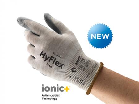 Manusi de protectie Ansell HYFLEX 11-100, impregnate in spuma de nitril [2]