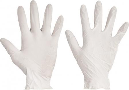 Manusi din latex pudrate Cerva LOON, unica folosinta [0]