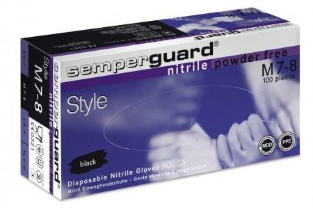 Manusi nitril nepudrate SEMPERGUARD STYLE [0]