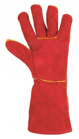 Manusi de protectie sudura Ardon RENE, piele spalt bovina, 35 cm2