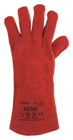 Manusi de protectie sudura Ardon RENE, piele spalt bovina, 35 cm3