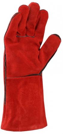 Manusi de protectie sudura Ardon RENE, piele spalt bovina, 35 cm1