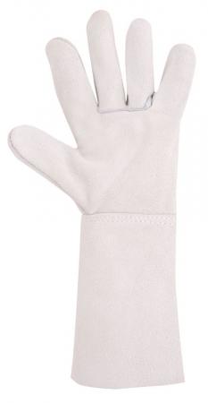 Manusi de protectie sudura Ardon MEL, piele spalt bovina, 35 cm1