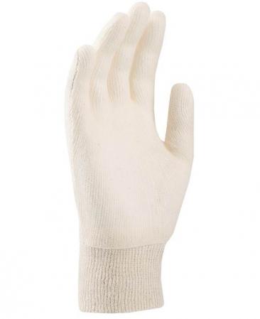 Manusi tricotate albe TERRY [1]
