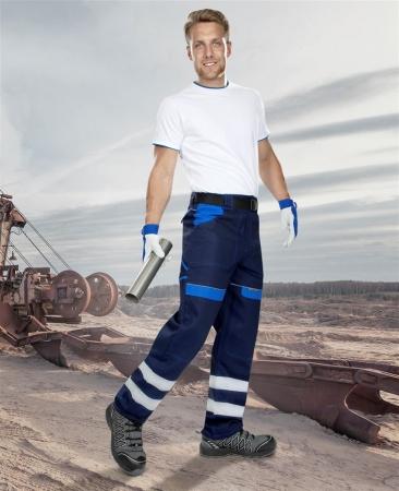 Pantaloni de lucru cu benzi reflectorizante Ardon COOL TREND REFLEX, 100% bumbac, 260gr/mp1