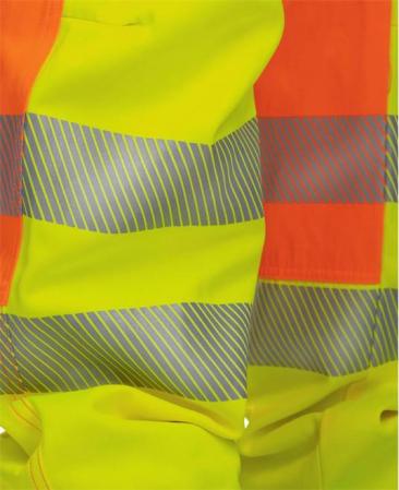 Pantaloni cu pieptar reflectorizanti Ardon SIGNAL, 65% poliester - 35% bumbac, 290gr/mp7