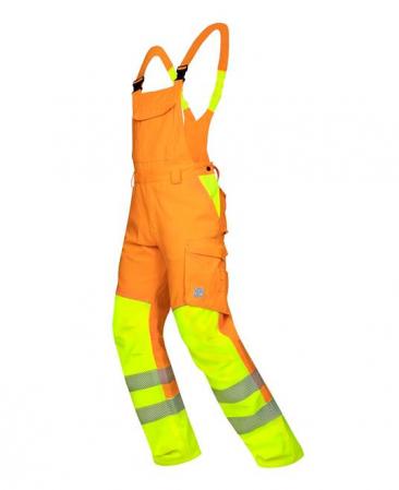 Pantaloni cu pieptar reflectorizanti Ardon SIGNAL, 65% poliester - 35% bumbac, 290gr/mp3